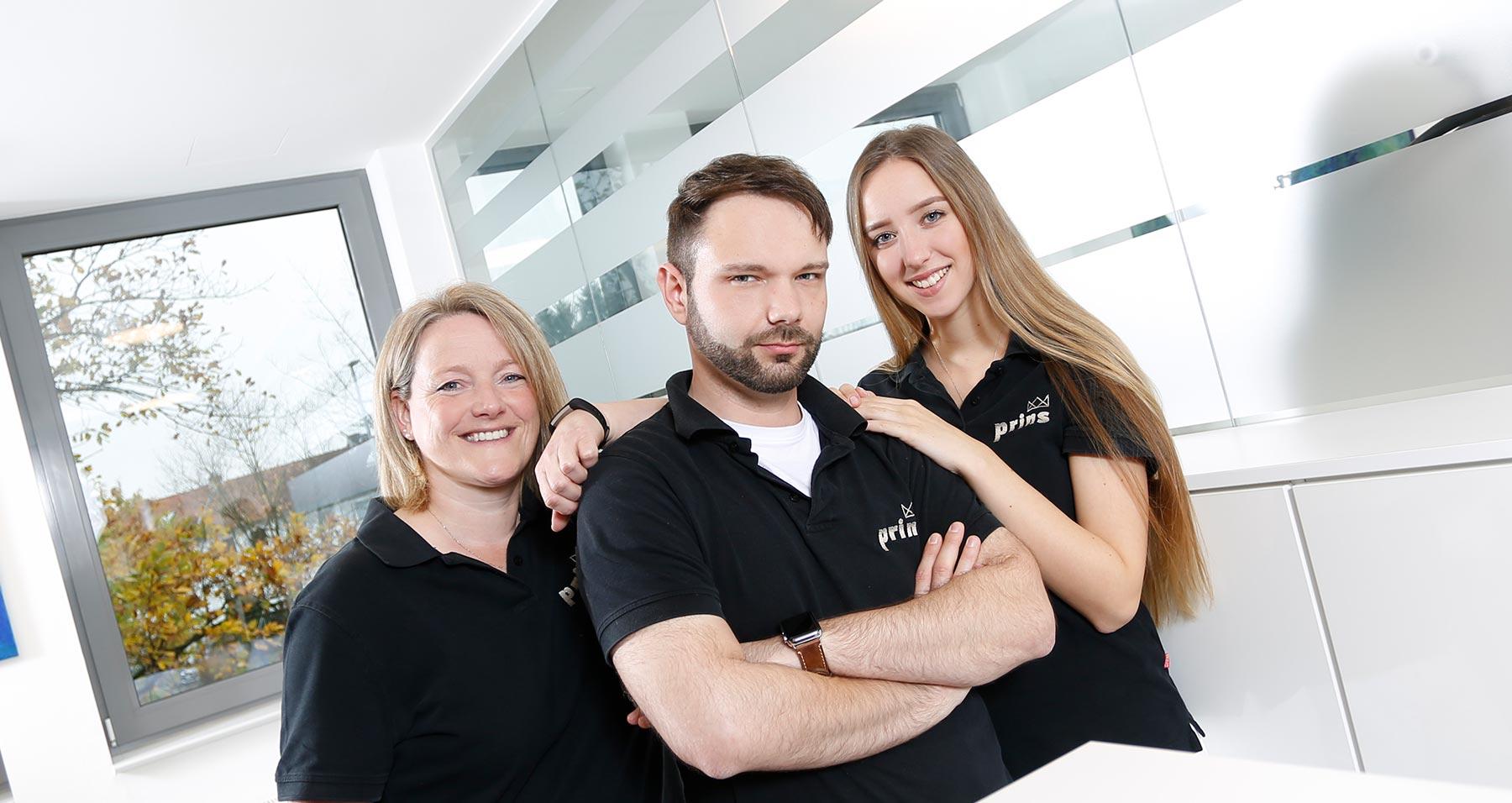 Team Zahnprins für eine schonende Zahnwurzelbehandlung (Endodontie) Langenhagen