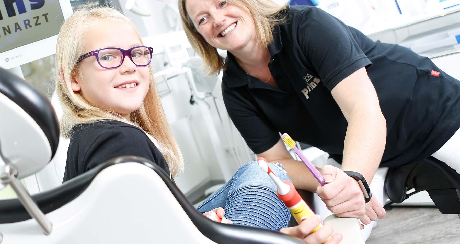 Gesunde Kinderzähne dank Zahnprophylaxe und PZR Langenhagen