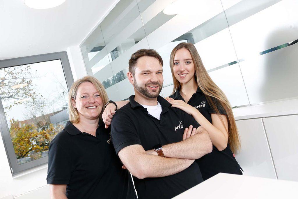 Mitarbeiter von Zahnprins, Ihrem Zahnarzt in Langenhagen